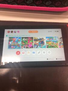 ゲームソフトトレイ交換後Switch